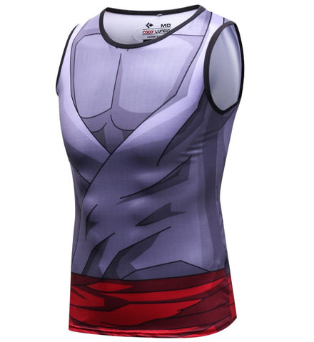 Dragon Ball Z 'Gohan' Elite Compression Tank Top