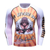 Gorilla Compression 'Zen' Elite Long Sleeve Rashguard