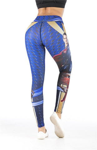 Women's Superman 'Man of Steel' Leggings