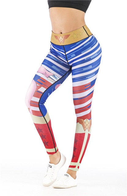 Women's Wonder Woman 'Comic' Leggings