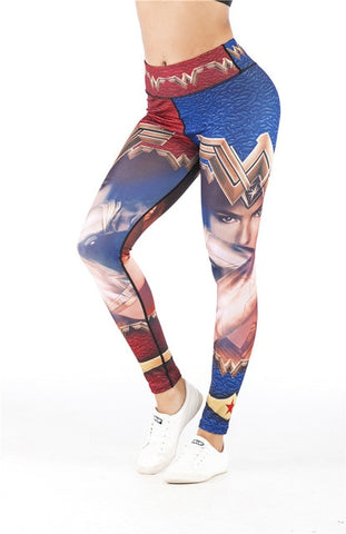 Women's Wonder Woman 'Fierce' Leggings