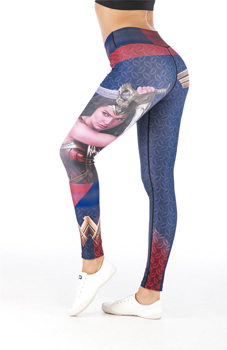 Women's Wonder Woman 'Battle' Leggings