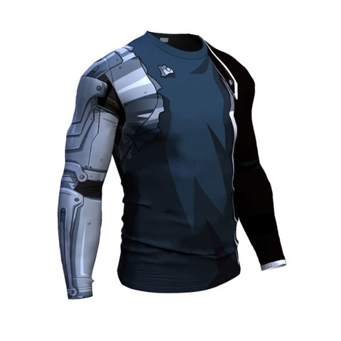 Fullmetal Alchemist Compression 'Edward' Long Sleeve Rashguard