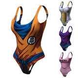 Women's Dragon Ball Z 'Bulma' One Piece Swimsuit