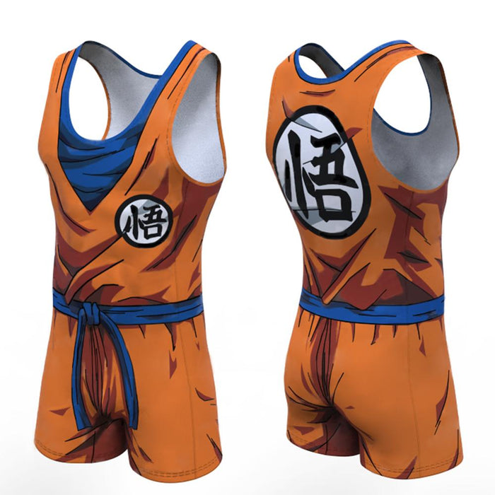Dragon Ball Z 'Goku' Men's Powerlifting Singlet