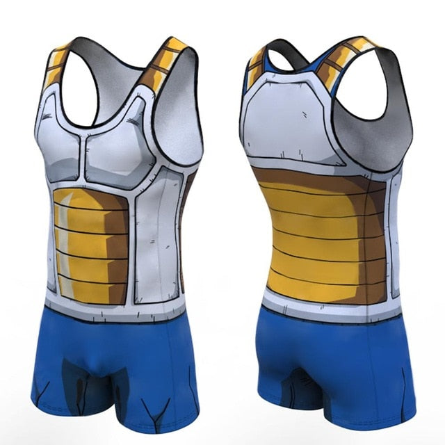Dragon Ball Z 'Vegeta' Men's Powerlifting Singlet