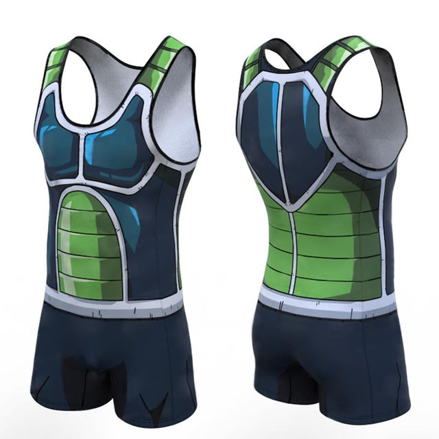 Dragon Ball Z 'Bardock' Men's Powerlifting Singlet