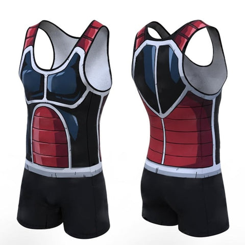 Dragon Ball Z 'Rouge' Men's Powerlifting Singlet
