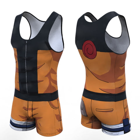 Naruto 'Teen Naruto' Men's Powerlifting Singlet