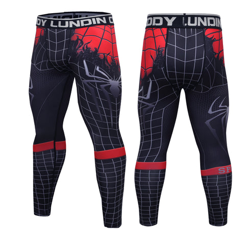 Spider 'Venom Symbiote' Elite Compression Leggings Spats