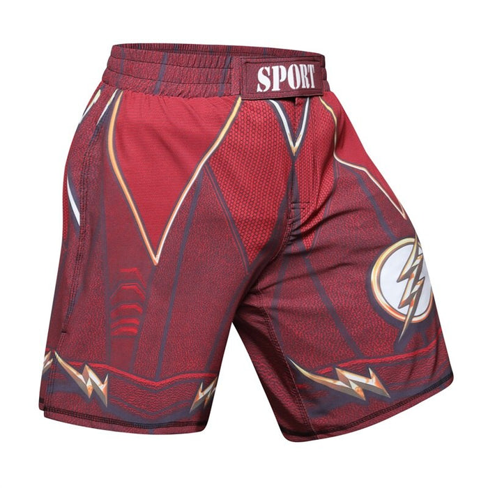 Men's The Flash MMA Boxing Fight Shorts