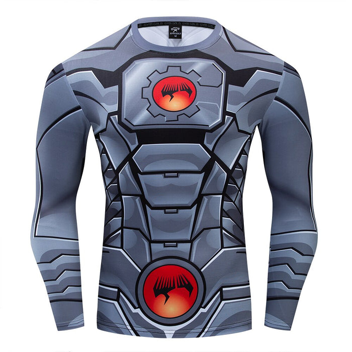 Cyborg Compression Long Sleeve Rashguard