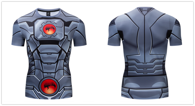 Cyborg Compression Short Sleeve Rashguard