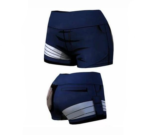 Women's Naruto 'Kakashi' Yoga Shorts