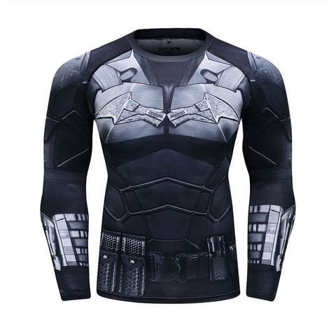 The Batman Compression Elite Long Sleeve Rashguard