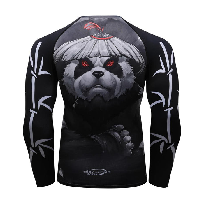 Panda Compression 'Samurai' Elite Long Sleeve Rashguard
