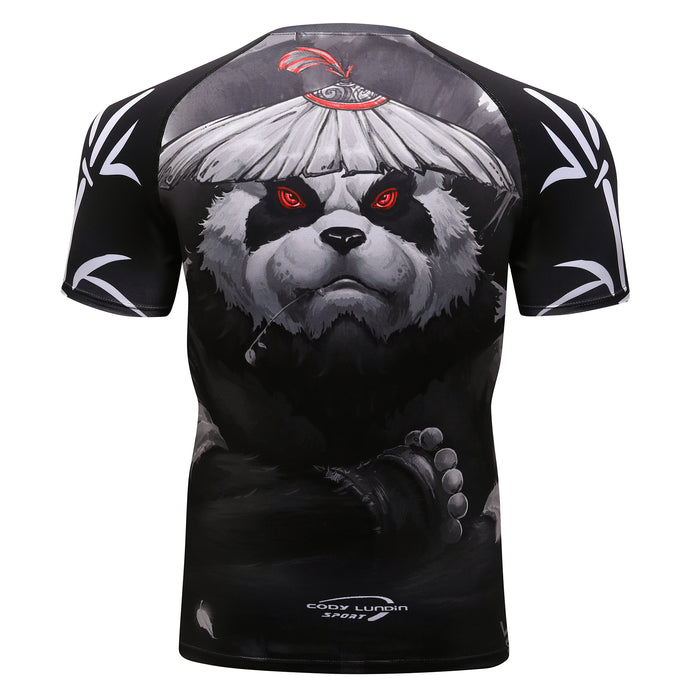 Panda Compression 'Samurai' Elite Short Sleeve Rashguard