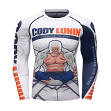 Gorilla Compression 'Snowflake | White Gorilla' Elite Long Sleeve Rashguard