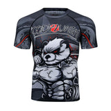 Panda Compression 'Flex On Em' Elite Short Sleeve Rashguard
