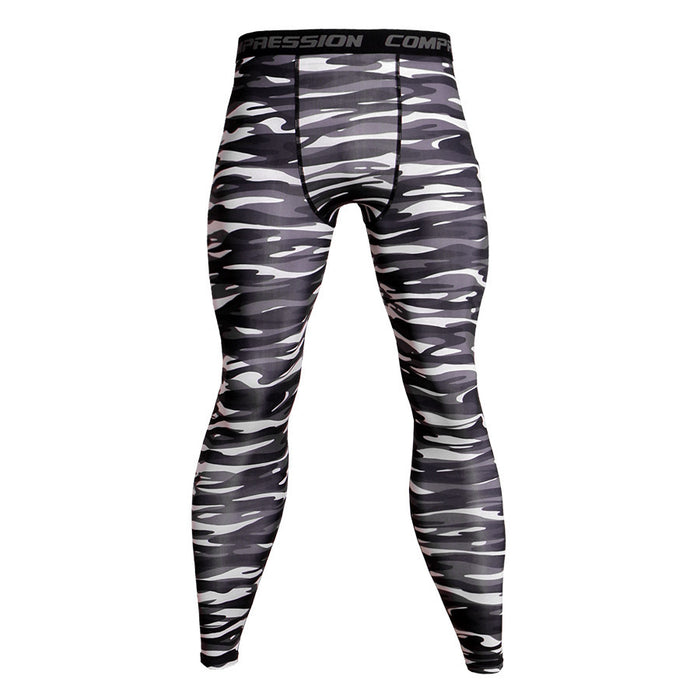 Men's Camouflage 'Urban' Compression Leggings Spats