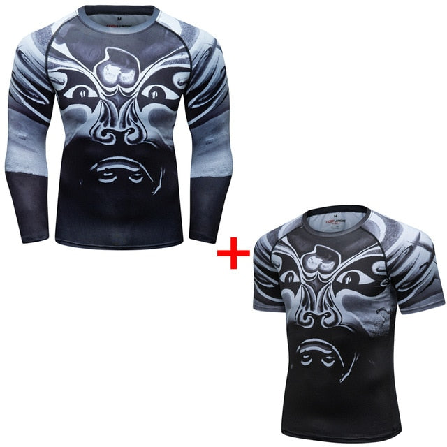 Samurai Compression 'The Wind Speaks | Set of 2' Elite Rashguard