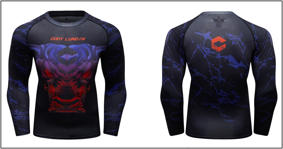 Bull Compression 'Not This Time | Set of 2' Elite Rashguard
