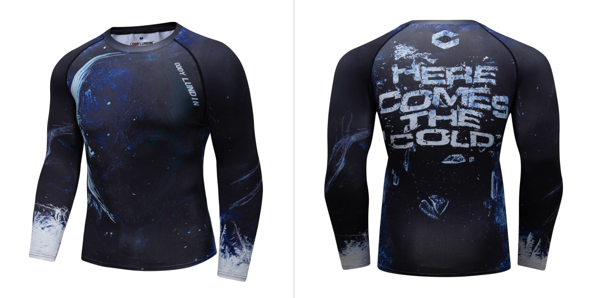 Warrior Compression 'Winter is Coming' Elite Long Sleeve Rashguard
