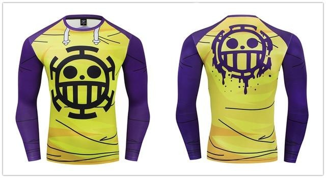 One Piece Compression 'Trafalgar' Premium Long Sleeve Rashguard