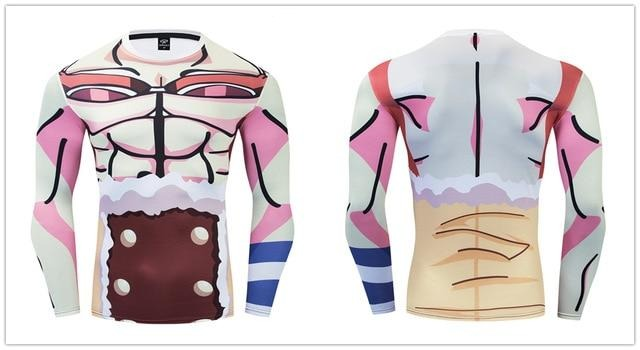 One Piece Compression 'Usopp' Premium Long Sleeve Rashguard