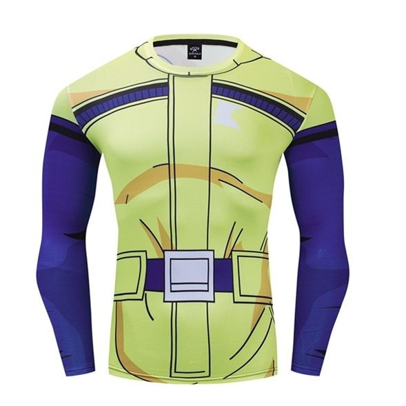 Women's Dragon Ball Z Compression 'Bulma | Namek Saga' Premium Long Sleeve Rashguard