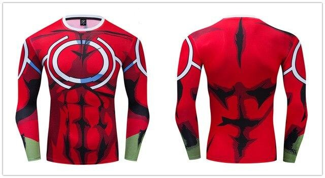 My Hero Academia Compression 'All Might Silver Age' Premium Long Sleeve RashGuard