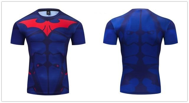 Batman Compression 'Red Hood' Premium Short Sleeve Rashguard