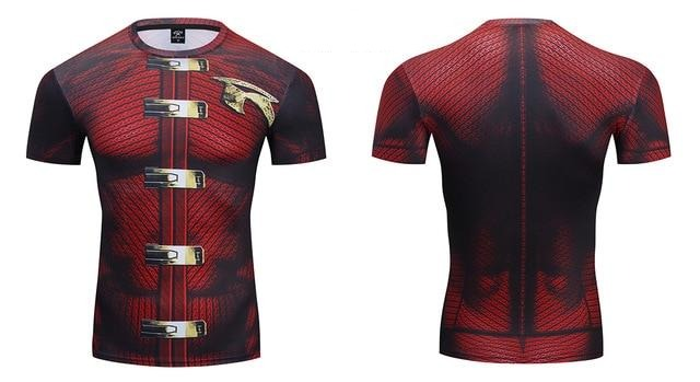 Robin Compression 'Tim Drake | Arkham Knight' Premium Short Sleeve Rashguard