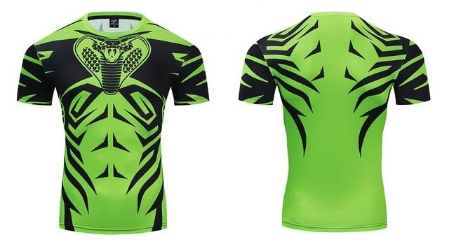 Cobra Compression Premium Short Sleeve Rashguard