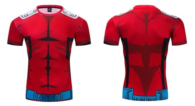 My Hero Academia Compression 'Deku | Red' Premium Short Sleeve RashGuard
