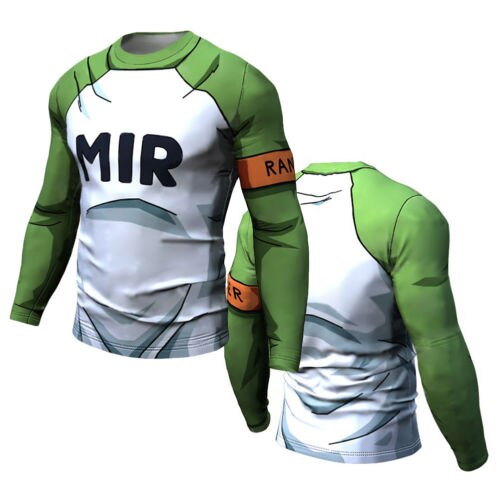 Dragon Ball Z Compression 'Android | Redemption 17' Long Sleeve Rashguard