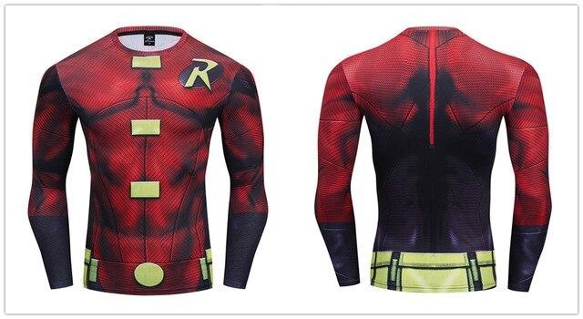 Robin Compression 'Tim Drake' Premium Long Sleeve Rashguard