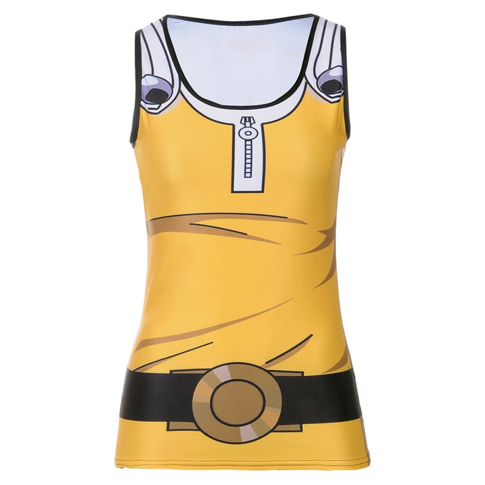 Women's One Punch Man 'Saitama' Compression Tank Top