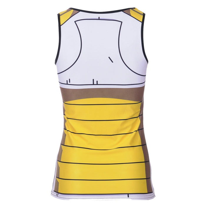 Women's Dragon Ball Z 'Vegeta' Compression Tank Top