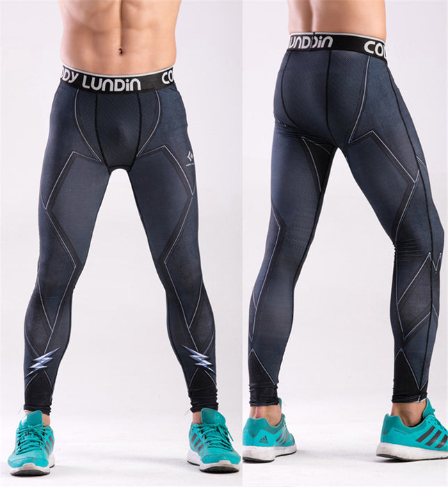 Men's The Flash 'Zoom' Elite Compression Leggings Spats