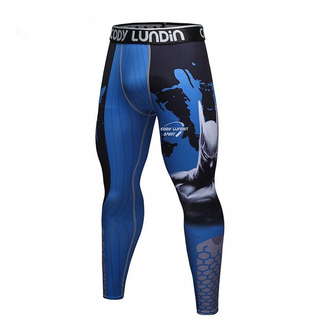 Batman 'Blue' Elite Compression Leggings Spats
