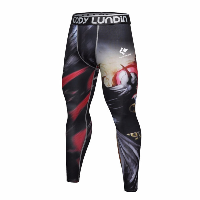 Batman 'Arkham Nights' Elite Compression Leggings Spats