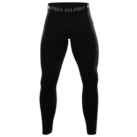 Men's Superman 'Pitch Black' Compression Leggings Spats
