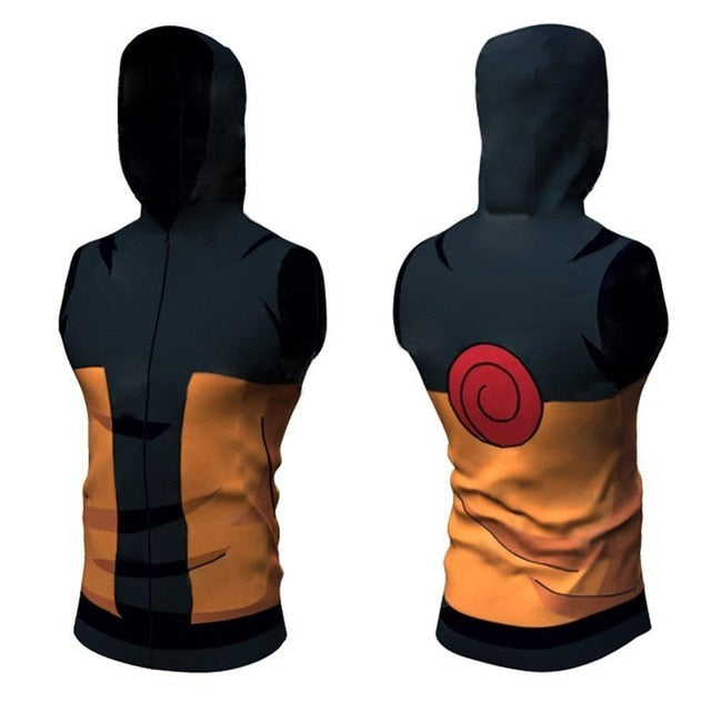 Naruto Compression 'Teen Naruto' Hooded Tank Top