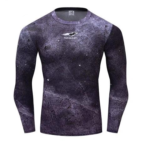 Camouflage Compression 'Concrete Camo' Long Sleeve Rashguard