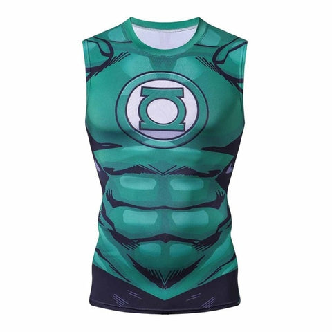 Green Lantern Compression 'Comic' Tank Top