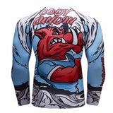 Wild Boar Compression Elite Long Sleeve Rashguard