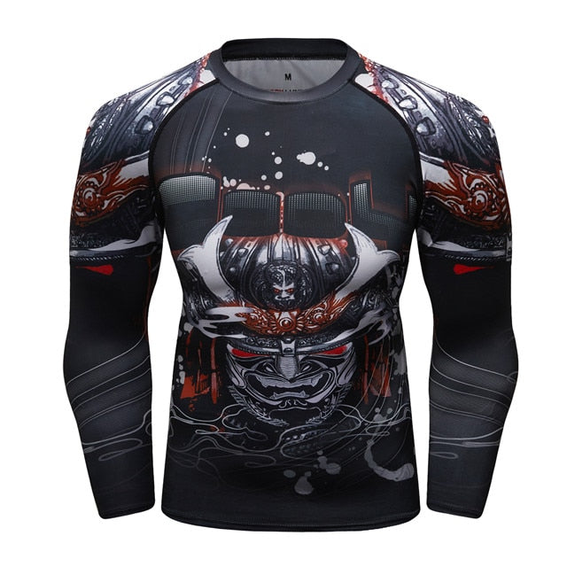 Samurai Compression 'Honor' Elite Long Sleeve Rashguard