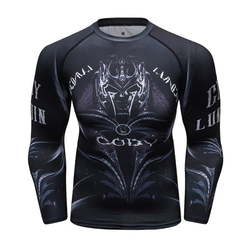 Samurai Compression 'Oath' Elite Long Sleeve Rashguard