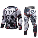 Panda 'Pumped' Elite Compression Long Sleeve Set